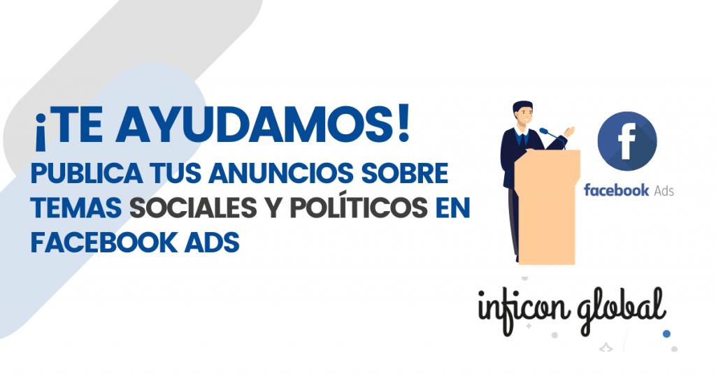 campañas de temas políticos y sociales en Facebook