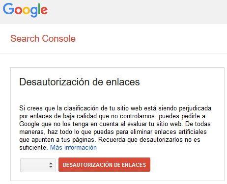 disavow- [CASO REAL] ¿Cómo salir de una acción manual de Google?