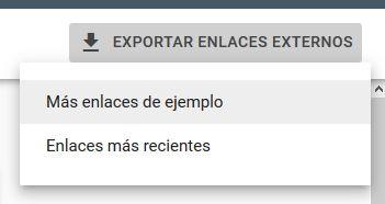 exportar enlaces - [CASO REAL] ¿Cómo salir de una acción manual de Google?