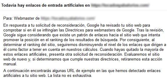sigue - [CASO REAL] ¿Cómo salir de una acción manual de Google?